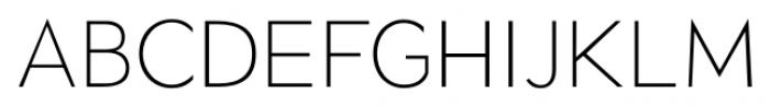 Okojo Pro Light Font UPPERCASE