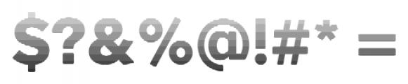 Okojo Pro Stack Face Sunrise Font OTHER CHARS
