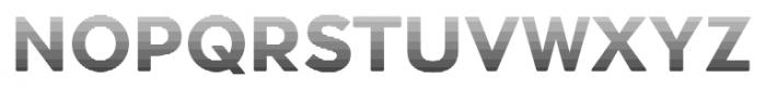 Okojo Pro Stack Face Sunrise Font UPPERCASE