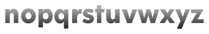Okojo Pro Stack Face Sunrise Font LOWERCASE