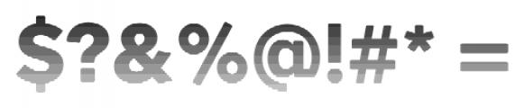 Okojo Pro Stack Face Sunset Font OTHER CHARS