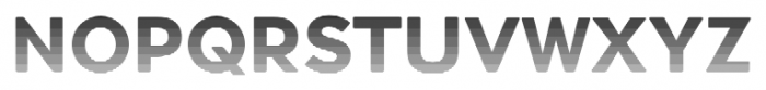 Okojo Pro Stack Face Sunset Font UPPERCASE