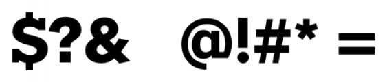 Okojo Slab Pro Bold Font OTHER CHARS