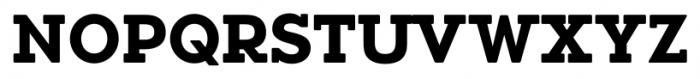 Okojo Slab Pro Display Bold Font UPPERCASE