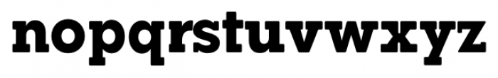 Okojo Slab Pro Display Bold Font LOWERCASE