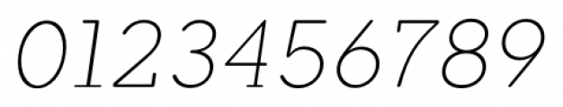 Okojo Slab Pro Display Light Italic Font OTHER CHARS