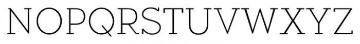 Okojo Slab Pro Display Light Font UPPERCASE
