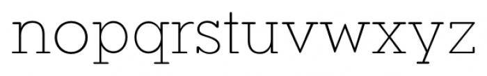 Okojo Slab Pro Display Light Font LOWERCASE