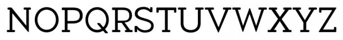 Okojo Slab Pro Display Regular Font UPPERCASE