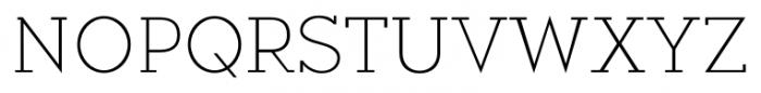Okojo Slab Pro Light Font UPPERCASE