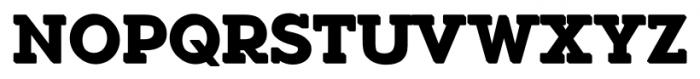 Okojo Slab Pro Stack 1 Font UPPERCASE