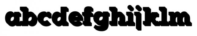 Okojo Slab Pro Stack 3 Font LOWERCASE