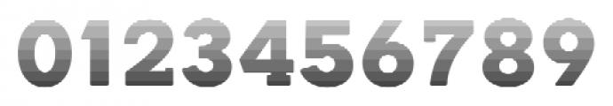 Okojo Slab Pro Stack Face Sunrise Font OTHER CHARS