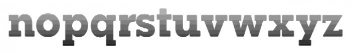 Okojo Slab Pro Stack Face Sunrise Font LOWERCASE