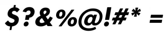 OkojoDisplay Bold Italic Font OTHER CHARS
