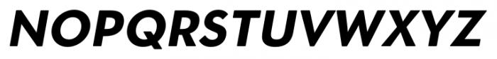 OkojoDisplay Bold Italic Font UPPERCASE