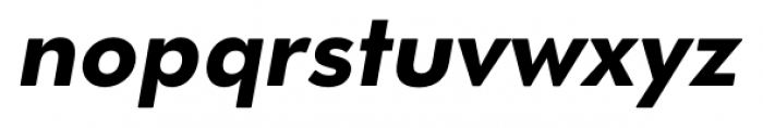 OkojoDisplay Bold Italic Font LOWERCASE