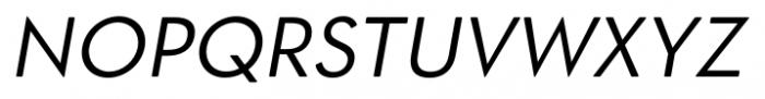 OkojoDisplay Italic Font UPPERCASE