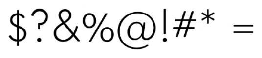 OkojoDisplay Light Font OTHER CHARS