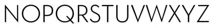 OkojoDisplay Light Font UPPERCASE