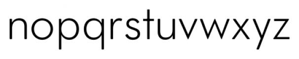 OkojoDisplay Light Font LOWERCASE