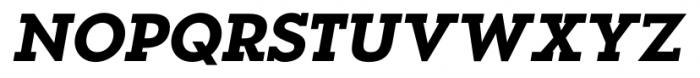 OkojoSlab Bold Italic Font UPPERCASE