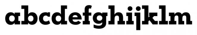 OkojoSlab Bold Font LOWERCASE