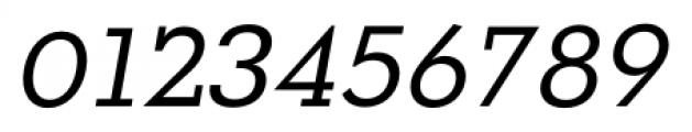 OkojoSlab Italic Font OTHER CHARS