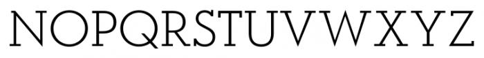 OkojoSlab Light Font UPPERCASE