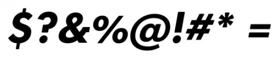 OkojoSlabDisplay Bold Italic Font OTHER CHARS