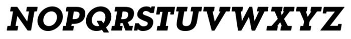 OkojoSlabDisplay Bold Italic Font UPPERCASE