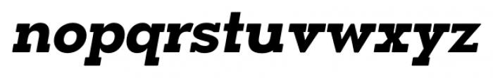 OkojoSlabDisplay Bold Italic Font LOWERCASE