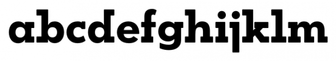 OkojoSlabDisplay Bold Font LOWERCASE