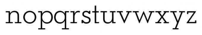 OkojoSlabDisplay Light Font LOWERCASE