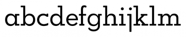OkojoSlabDisplay Regular Font LOWERCASE