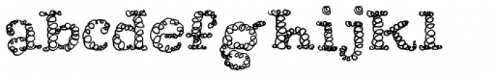 Okay Cotton Font LOWERCASE