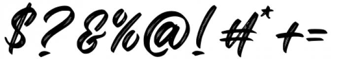 Okinawa Regular Font OTHER CHARS