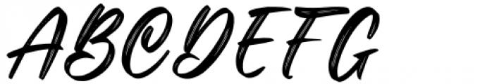 Okinawa Regular Font UPPERCASE