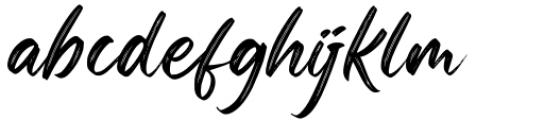 Okinawa Regular Font LOWERCASE