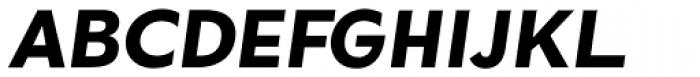 Okojo Pro Bold Italic Font UPPERCASE