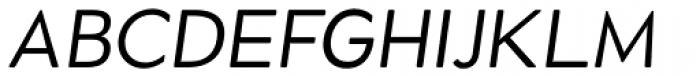 Okojo Pro Display Italic Font UPPERCASE