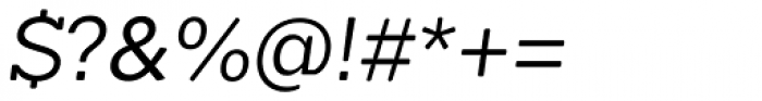 Okojo Slab Pro Display Italic Font OTHER CHARS