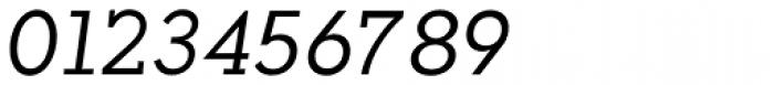 Okojo Slab Pro Italic Font OTHER CHARS