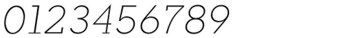 Okojo Slab Pro Light Italic Font OTHER CHARS