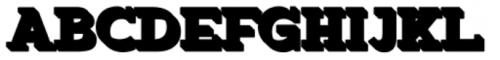Okojo Slab Pro Stack Stack3 Font UPPERCASE