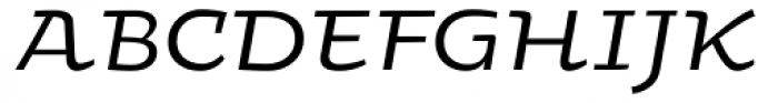 Oksana Greek Alt Demi Bold Italic Font UPPERCASE