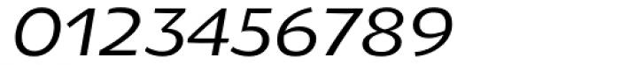 Oksana Greek Demi Bold Italic Font OTHER CHARS