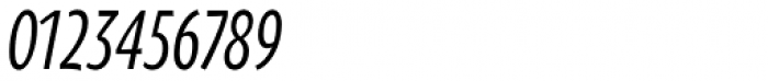 Oksana Sans Compressed DemiBold Italic Font OTHER CHARS