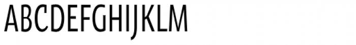 Oksana Sans Compressed DemiBold Font UPPERCASE
