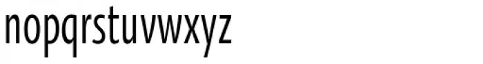 Oksana Sans Compressed DemiBold Font LOWERCASE